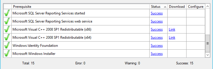 Cannot install Reporting Services Extensions error
