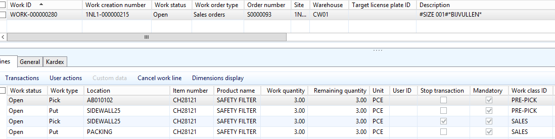Cluster Picking, put away is incorrect - Microsoft Dynamics AX Forum