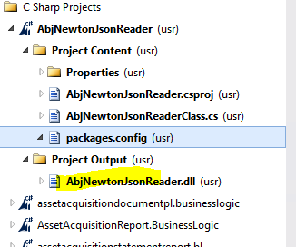 Could not load file or assembly Newtonsoft Json or one of its