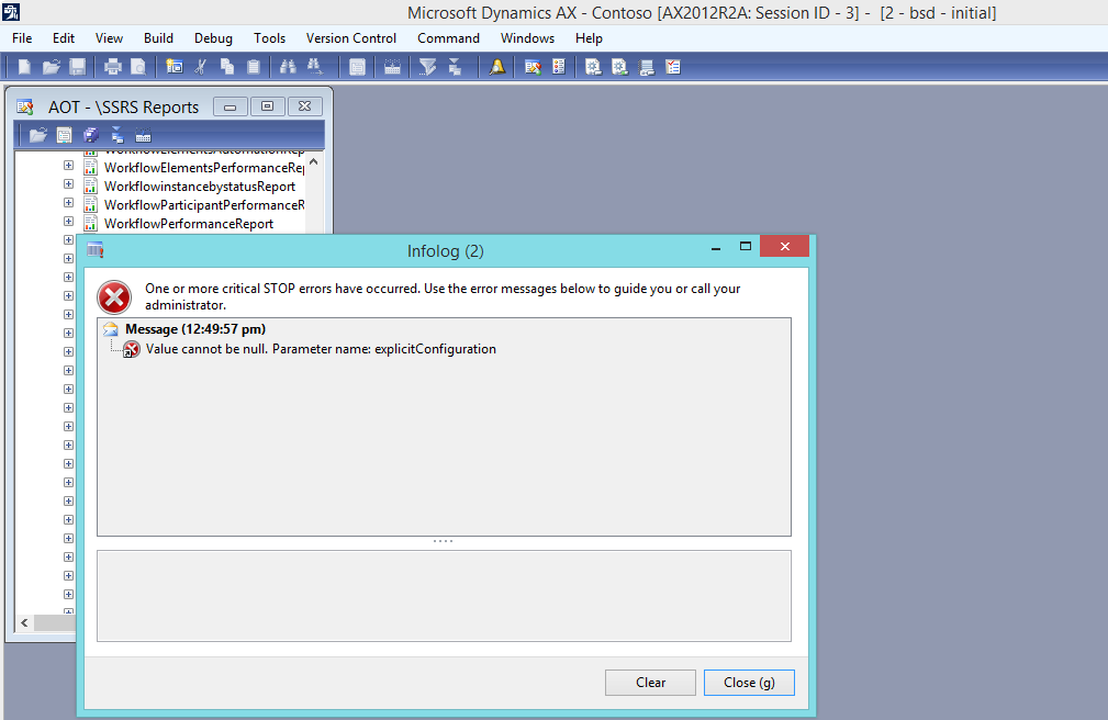 Error Deploy SSRS Reports :