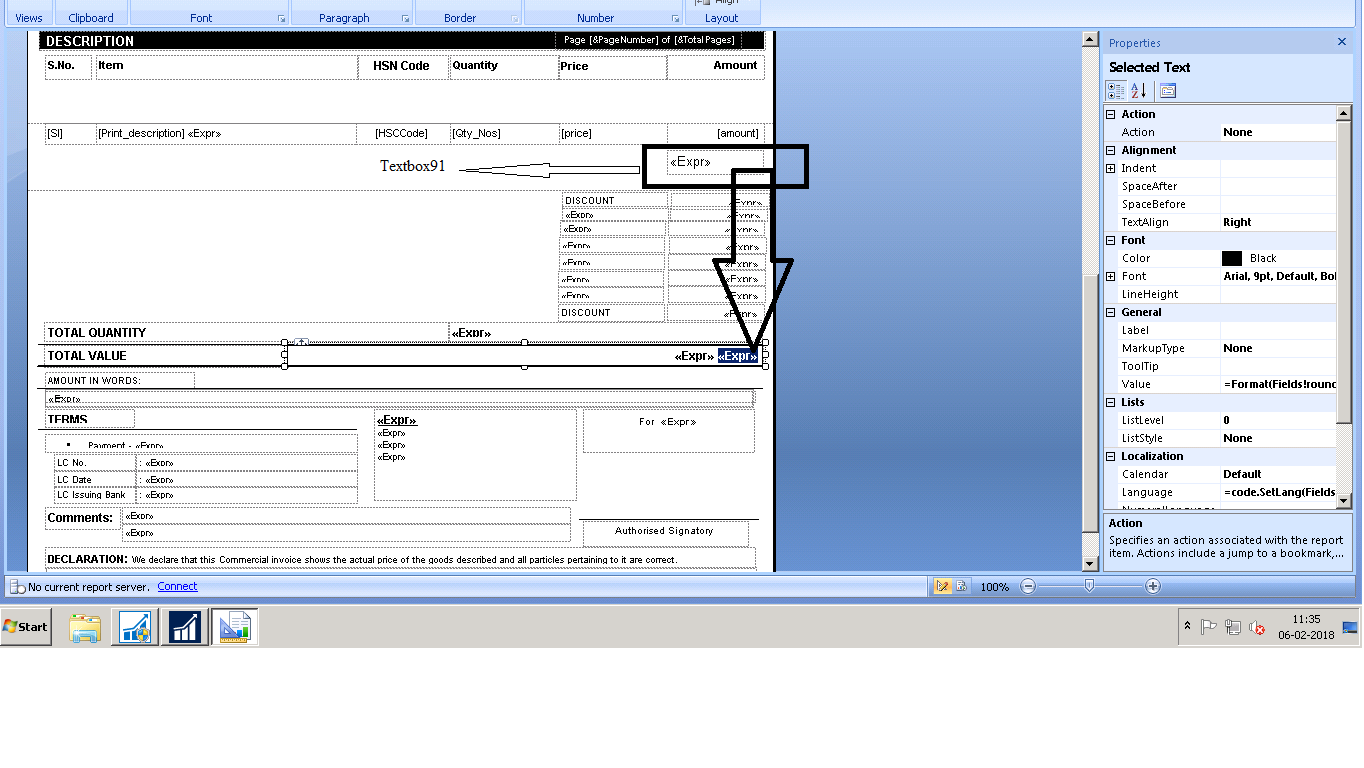 Format number in ssrs report - Microsoft Dynamics NAV Forum