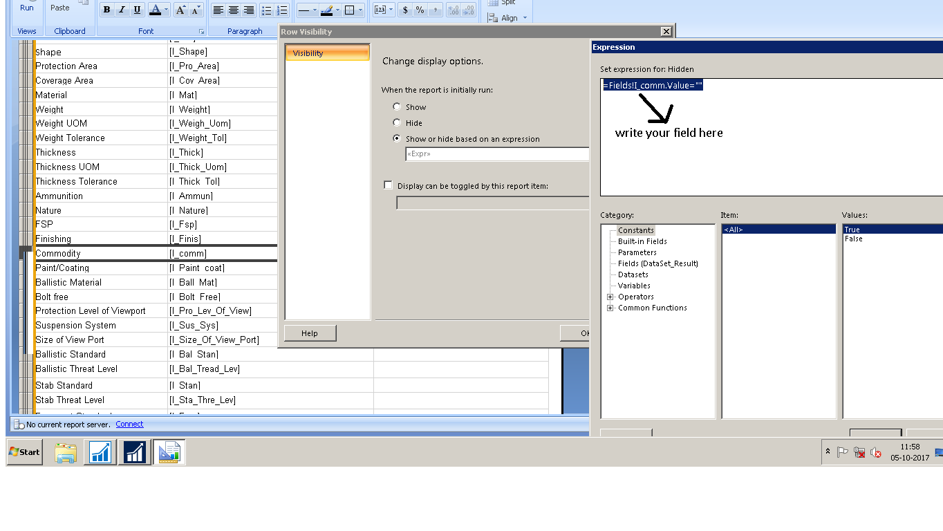 Remove blank lines from Report - Microsoft Dynamics NAV