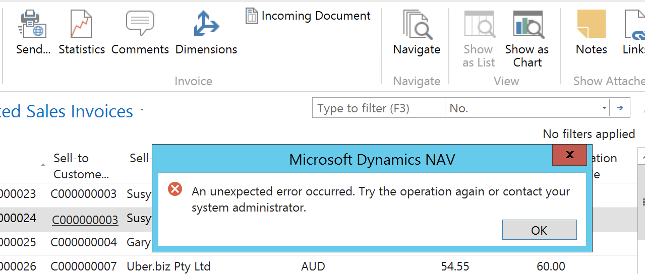 Email - Error Message - Microsoft Dynamics NAV Forum ... Pictures In Dynamics Nav Email Message