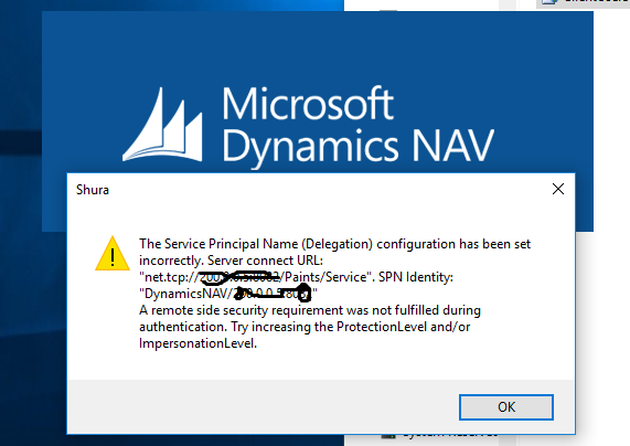 Login Failed - Microsoft Dynamics NAV Forum Community Forum
