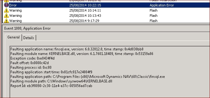 NAV Crashes often on Citrix servers  - Microsoft Dynamics NAV Forum