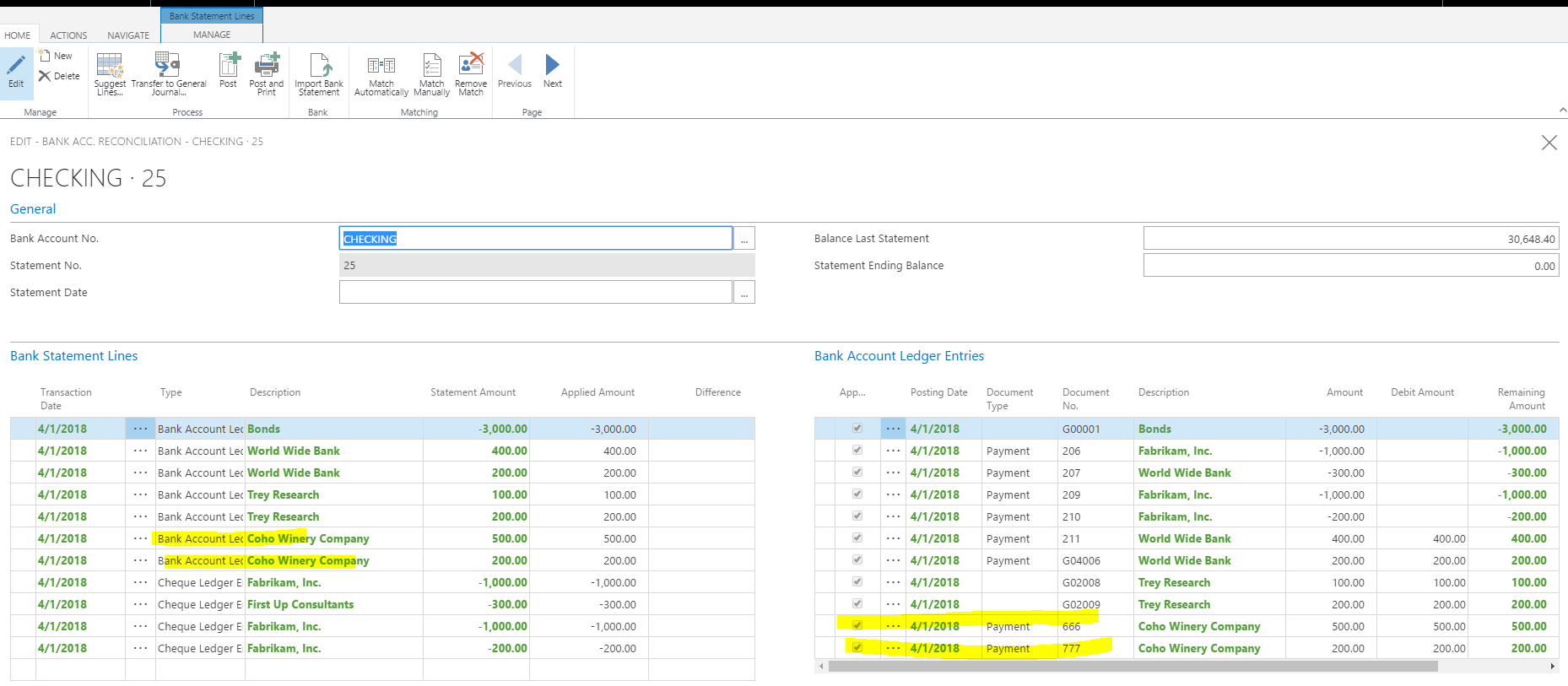 bank recon If you have recently upgraded to nav 2015 and above and your bank reconciliation screen looks different, it's because there are now two types of the bank.
