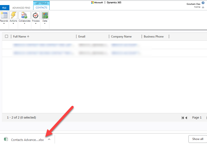 Export to Excel wrong file type - Dynamics 365 General Forum