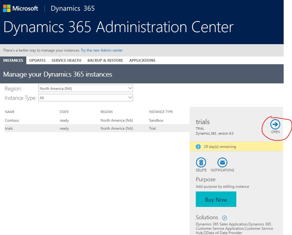 where is Settings area gone from Dynamics 365 CE trials