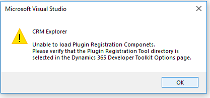 Problem Connecting the Dynamics 365 V9 Developer Guide to
