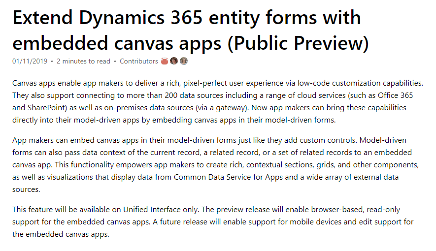 Display multiple entities in a canvas app? - Dynamics 365