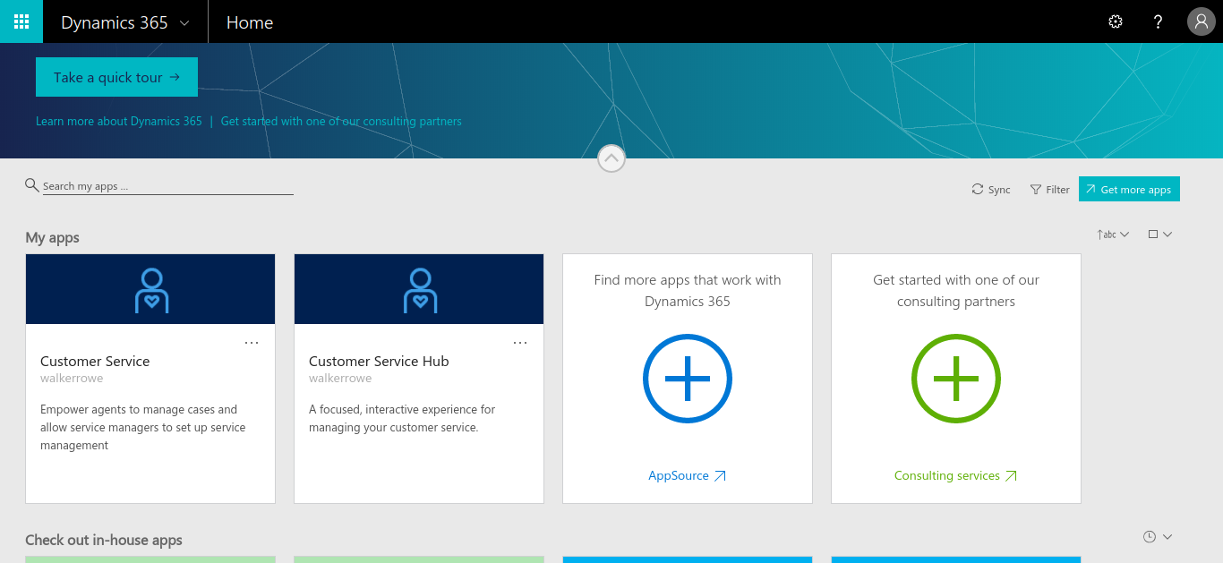 Sales App not available under My Apps - Dynamics 365 for
