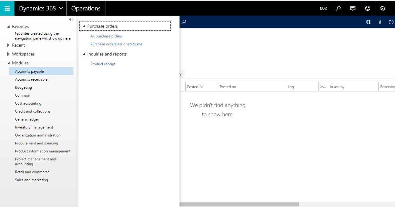 Accessing Microsoft Dynamics 365 for Operations instances