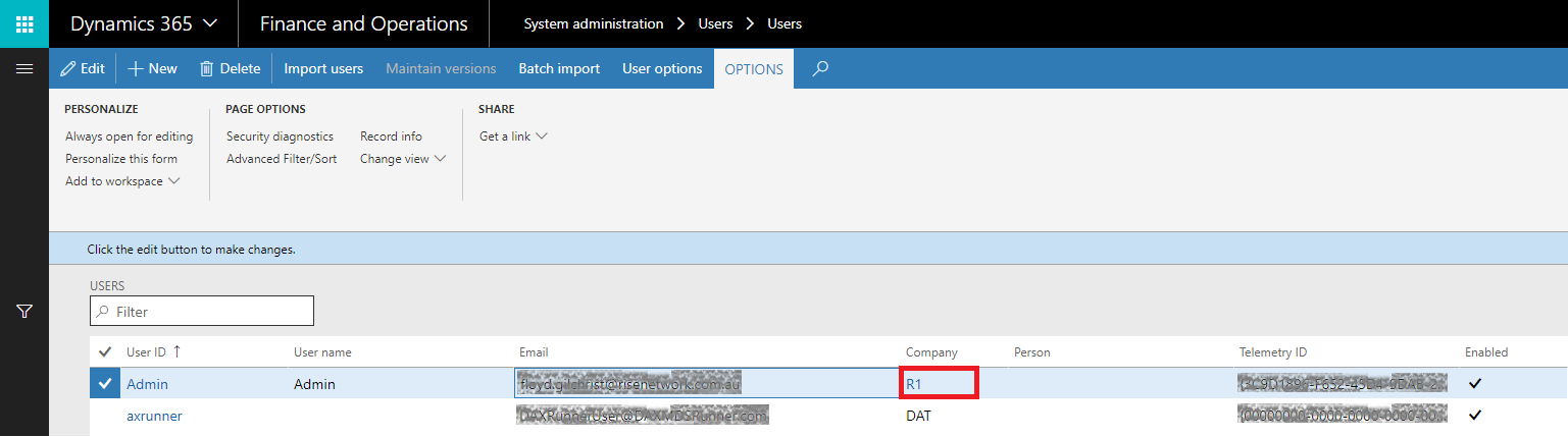 Unable to GET data from customer data entity using Postman