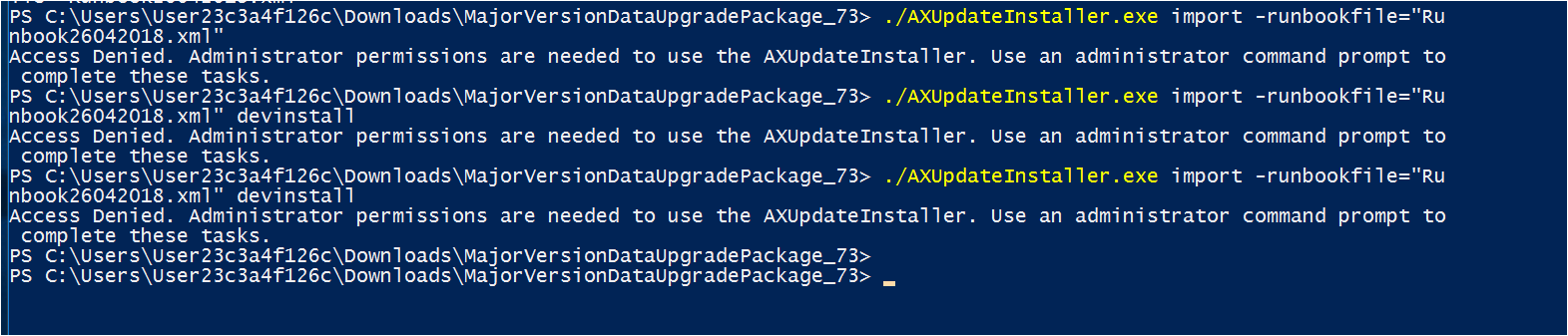 Data Upgrade from AX 2012 R2 to d365FO PU 12 - 7 3 - Dynamics 365