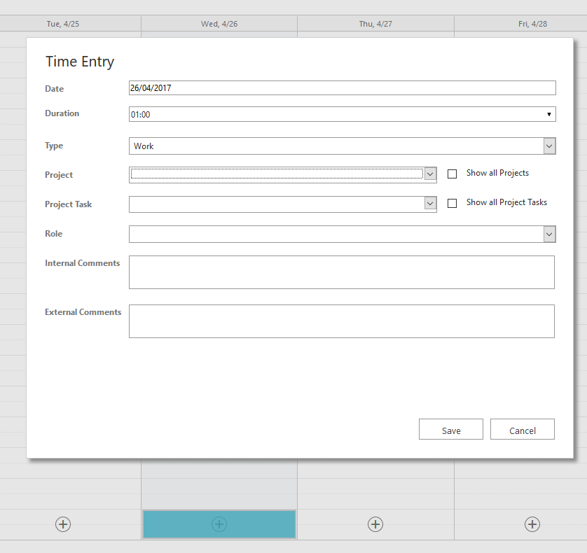 Customizing Time Entry Form Dynamics 365 For Project Service