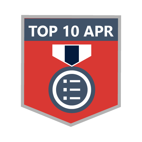 Top 10 in April 2015 Blog Leaderboard