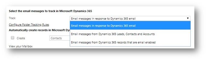 Email Settings v2 2D00 1 Dynamics 365 Customer Engagement – How to choose System Settings and Personal Options for automatic Email tracking