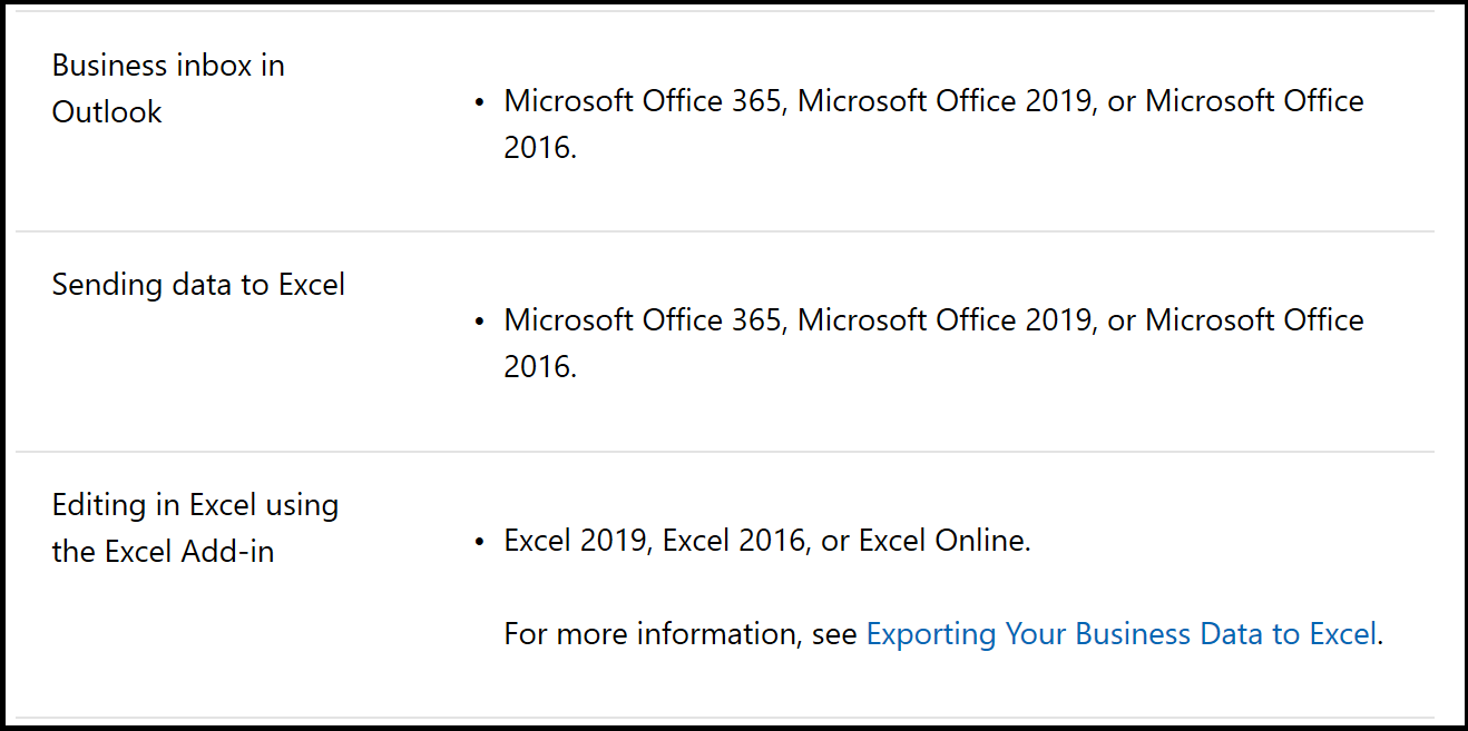 Dynamics 365 Business Central and Office 2019 - Microsoft Dynamics Blog