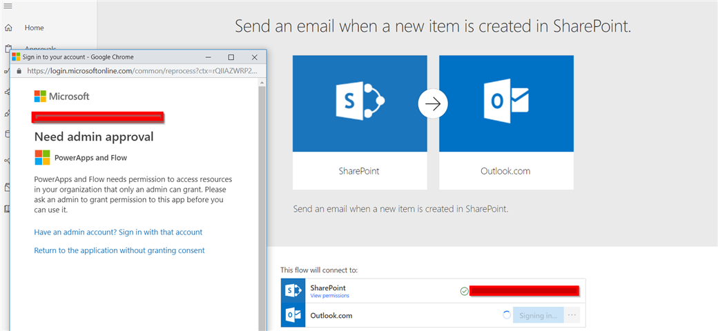 Powerapps Send Email