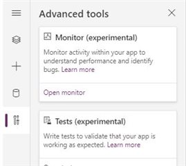 Monitoring the Power Platform: Canvas Driven Apps   The Monitoring Tool