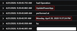 Monitoring the Power Platform: Canvas Driven Apps   Auditing and Activity Logs Part 2