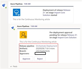 Monitoring the Power Platform: Azure DevOps   Orchestrating Deployments and Automating Release Notes