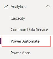Monitoring the Power Platform: Power Automate   Power Automate Analytics