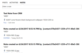How to show downloadable file attachments from Notes in