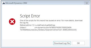 ReferenceError: $ is not defined - Microsoft Dynamics CRM Forum