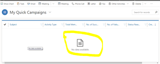 How to Customize Error Message of view in grid In Crm Dynamic 365