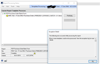 How to call Stored Procedure from VBA for Great Plains on