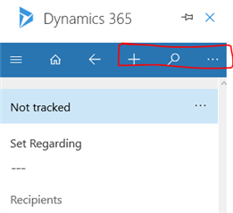 UI customization for the Outlook Plugin: Removing unwanted