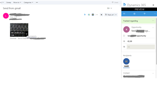 Dynamics 365 App for Outlook Doesn't Synchronize Email Attachments