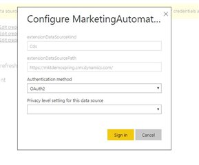 PowerBI templates from github do not update automatically online