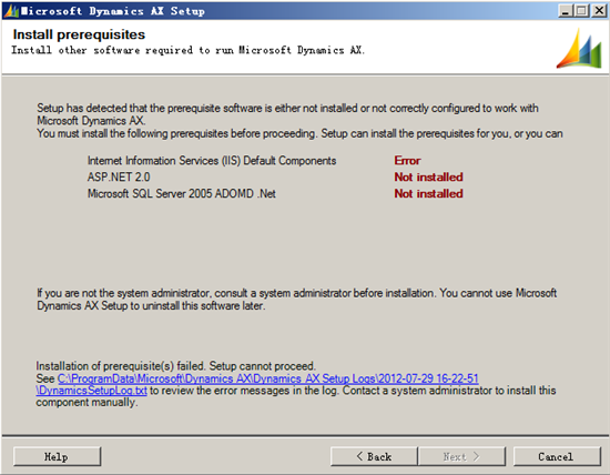 How to install AX2009 SP1 SSRS feature with Sql server 2008