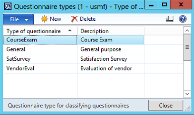 how to set up a questionnaire