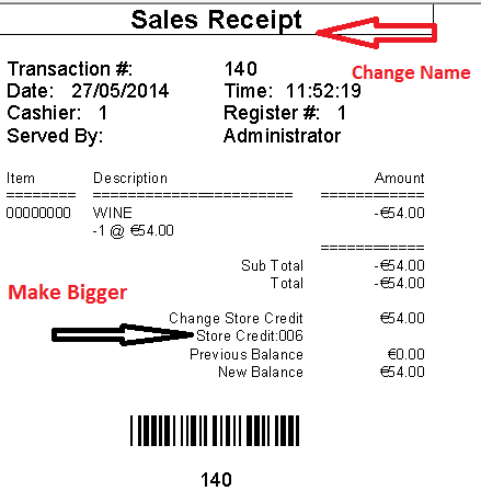 how to make a sales receipt