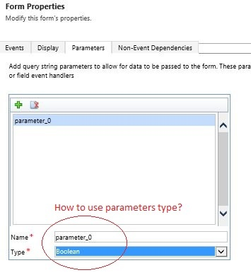 Form properties, parameters - Microsoft Dynamics CRM Forum