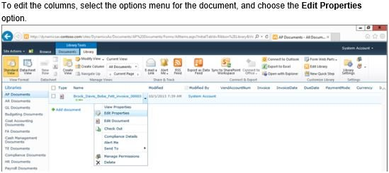 Attached File from AX to SharePoint Site - Microsoft