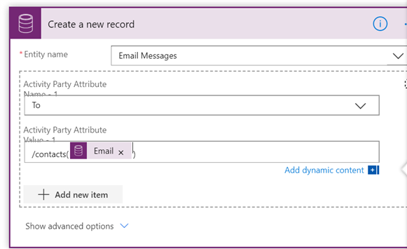 pastedimage1584997038436v10 Use Power Automate to build an email recipient list and sending in Outlook vs Dynamics connector