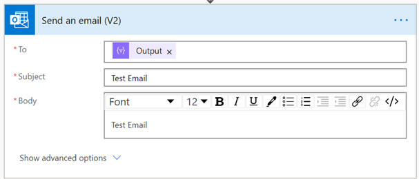 pastedimage1584997038411v7 Use Power Automate to build an email recipient list and sending in Outlook vs Dynamics connector
