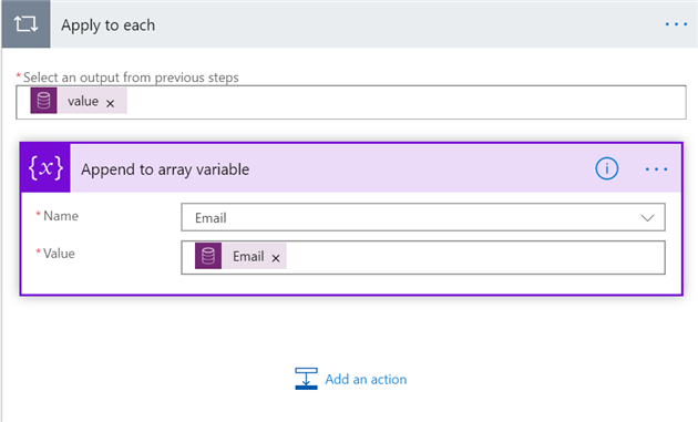 pastedimage1584997010730v4 Use Power Automate to build an email recipient list and sending in Outlook vs Dynamics connector