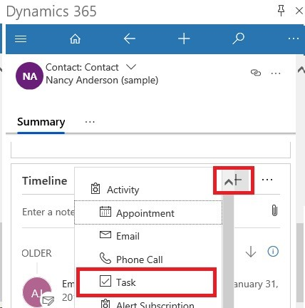 App for Outlook Task Tracking 2D00 4 Dynamics 365 App for Outlook – How do I track Tasks?