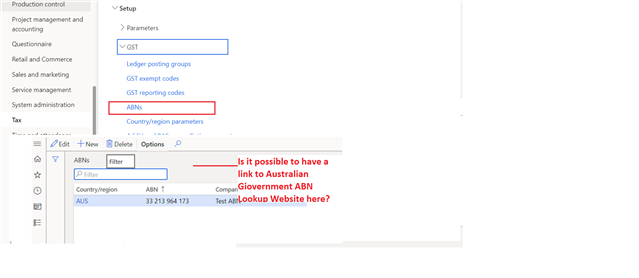 ABN (Australian Business Number) field in Customers and ...