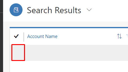 Missing icon of Hierarchy view Accounts in Unified Interface