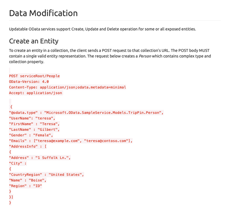 OData Update or Insert on an Expand - Dynamics 365 for