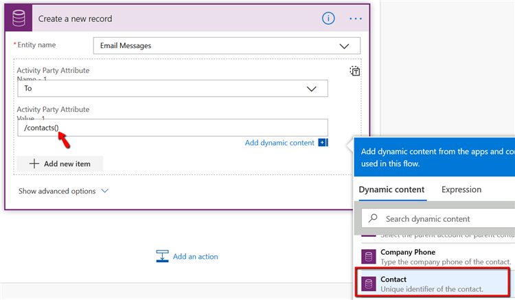 8233.pastedimage1585054531583v4 Creating and Sending an Email from Dynamics 365 using Power Automate